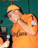 Eduardo Martín Saura, manager del equipo Villa Clara, se siente confiado en la victoria.